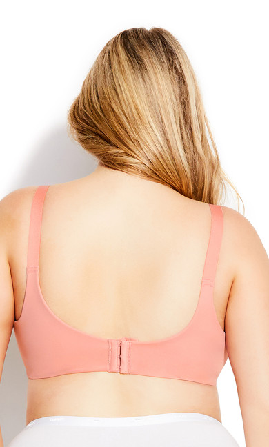 Fashion Back Smoother Bra - rose