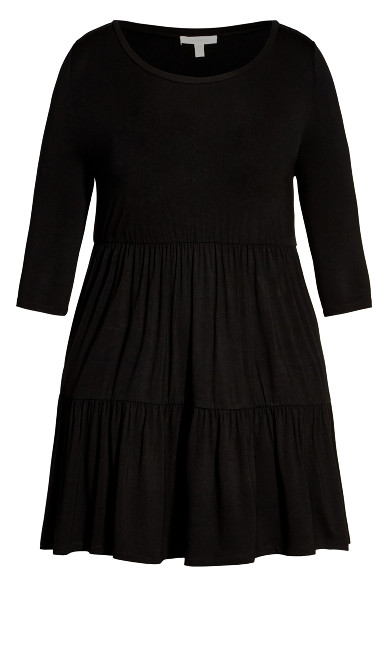 Anya Dress - black