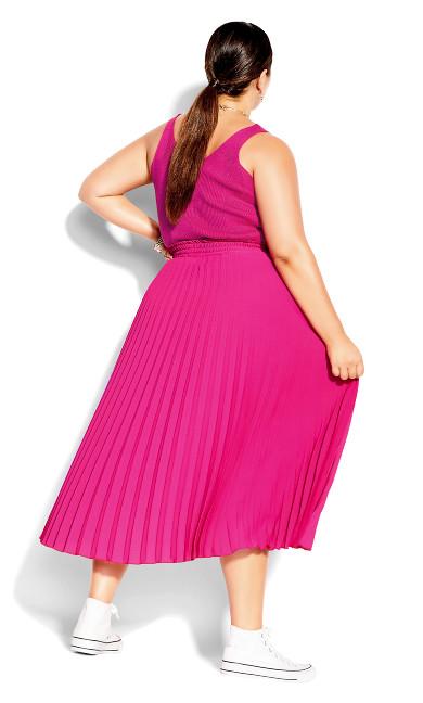Synergy Skirt - shock pink