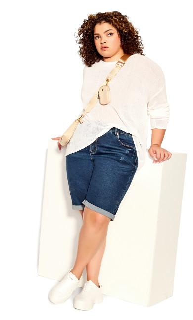 Plus Size Lori Sweater - ivory