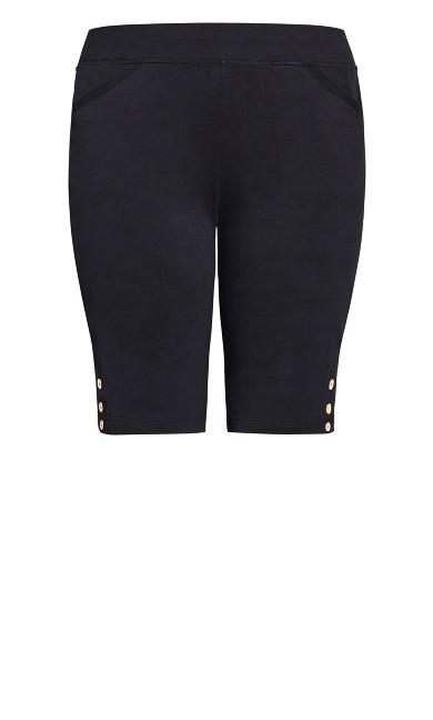 Knit Pocket Short - navy