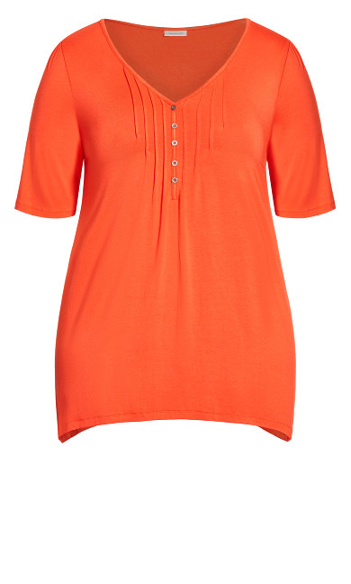 Sharkbite Top - tangerine