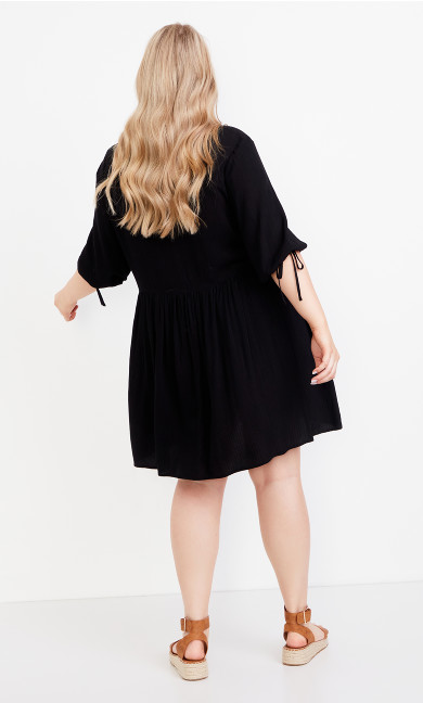 Trinity Pocket Dress - black