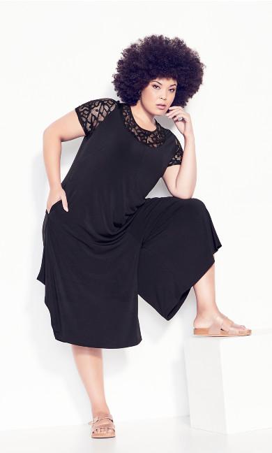Plus Size Jemma Jumpsuit - black