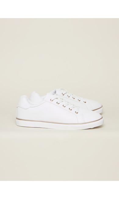 EXTRA WIDE FIT Spencer Trainer - white