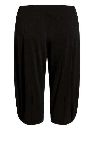 Kenzie Drape Trouser - black