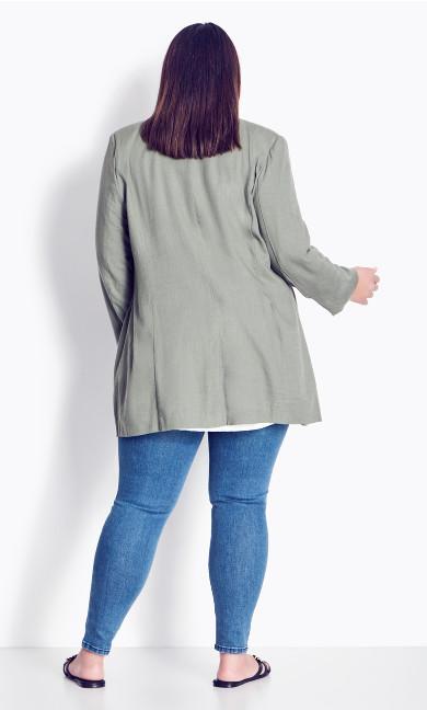 Bestie Blazer Jacket - khaki