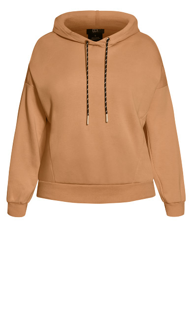 Lounger Hoodie - biscuit