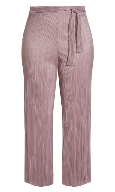 Plisse Pant - pink