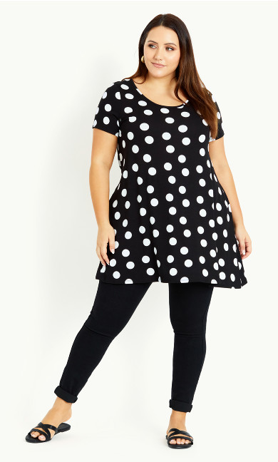Spot Swing Top - black