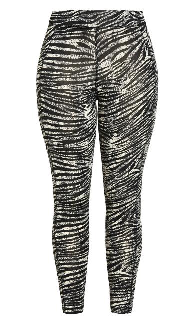 Zebra Active Legging - black