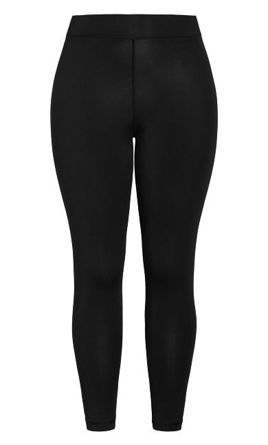 Plain Legging - black