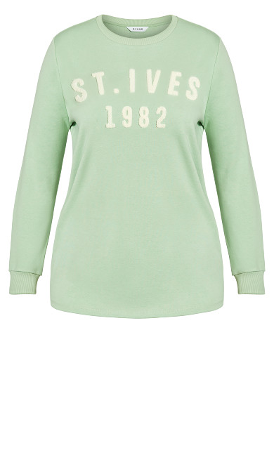 St Ives Sweater - green