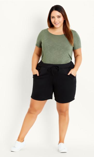Jersey Short - black
