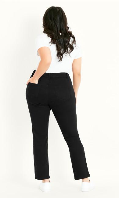 Straight Leg Jean Black - regular