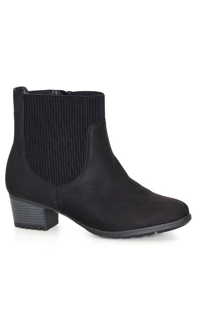 EXTRA WIDE FIT Maree Ankle Boot - black