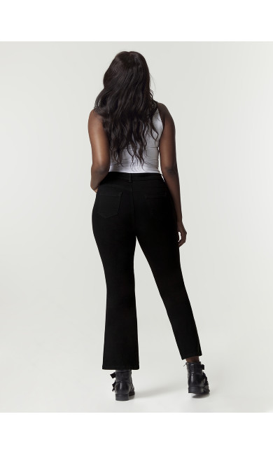 Black Bootcut Jeans - Regular Length