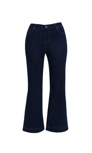 Indigo Wide Leg Jeans - Regular Length