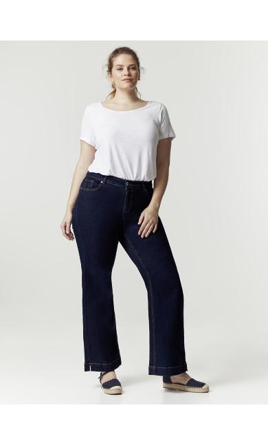 Indigo Wide Leg Jeans