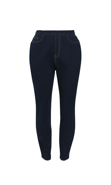 Indigo Jeggings - Short Length