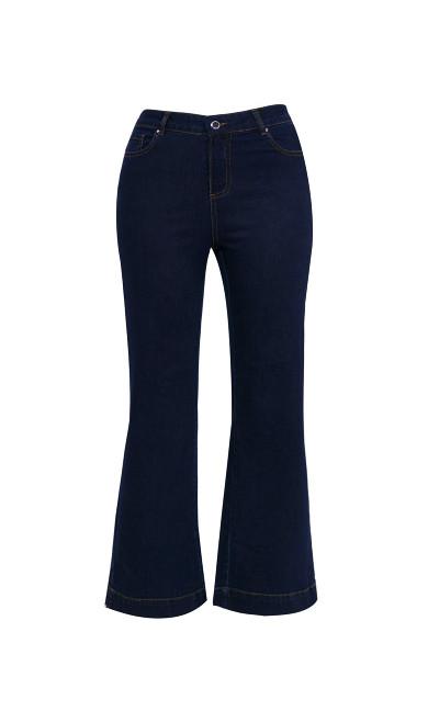 Wide Leg Jeans Indigo - petite