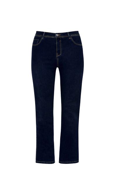 Straight Leg Jeans Indigo - petite
