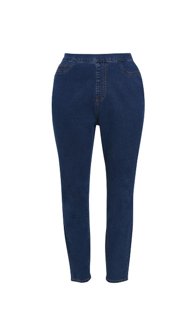 Curve Jegging Mid Wash - regular