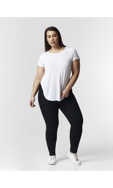 Curve Jegging Black - short