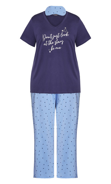 Star Sleep Set - blue