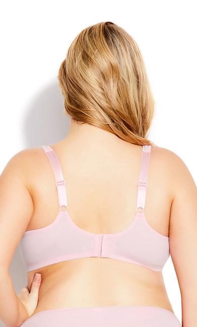 Fashion Smooth Caress Bra - sweet pink