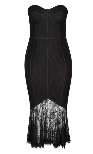 So Seductive Dress - black