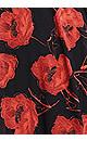 Plus Size Ibiza Print Dress - red