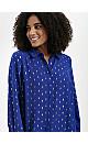 Blue Foil Shirt