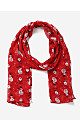 Red Snowman Scarf