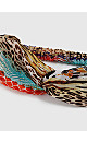 Multicoloured Animal Print Headband