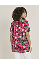 Pink Floral Print Gypsy Top