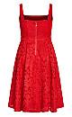 Jackie O Dress - red