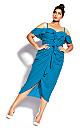 Va Va Voom Dress - blue