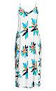 Elba V Neck Maxi Dress - white