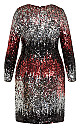 Irresistible Dress - ruby