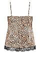 Slinky Cami Set Print - leopard print