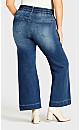 Plus Size Jenna Flare Jean Light Wash - average
