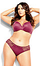 Bodycon Cheeky Brief - mulberry