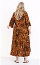 Plus Size Azariah Dress - animal