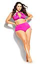 Plus Size Cancun Underwire Bikini - fuchsia