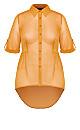 Hi Lo Feels Shirt - gold