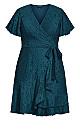 Sweet Love Lace Dress - peacock