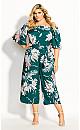 Amazon Lily Jumpsuit - emerald