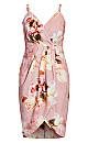 English Bouquet Dress - blush