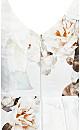 English Bloom Dress - ivory
